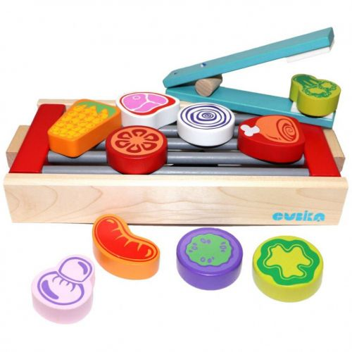 Educational wooden game children set
