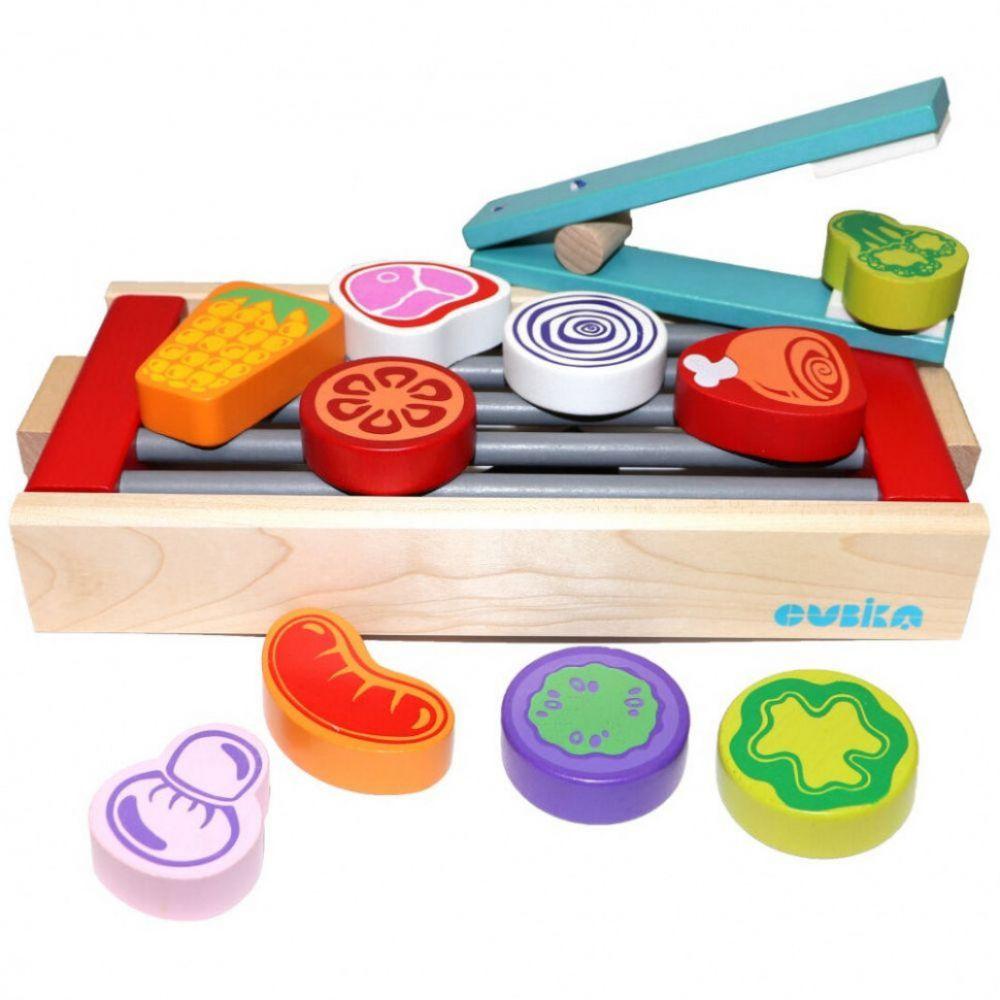 Educational wooden game children set