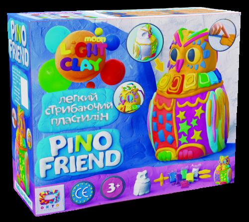 Light jumping Clay - Pino Friend Puffy set