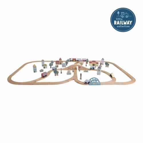 Dzelzceļa vilciena XXL komplekts - sākuma komplekts