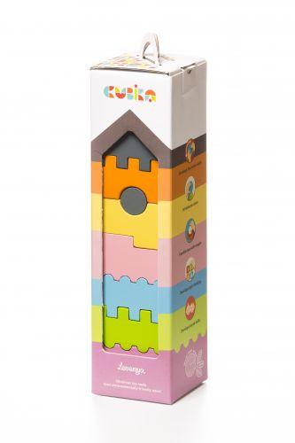 Комплект деревянных блоков БАШНЯ 3