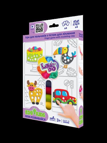 Play dough Set - Edu kids Finger games