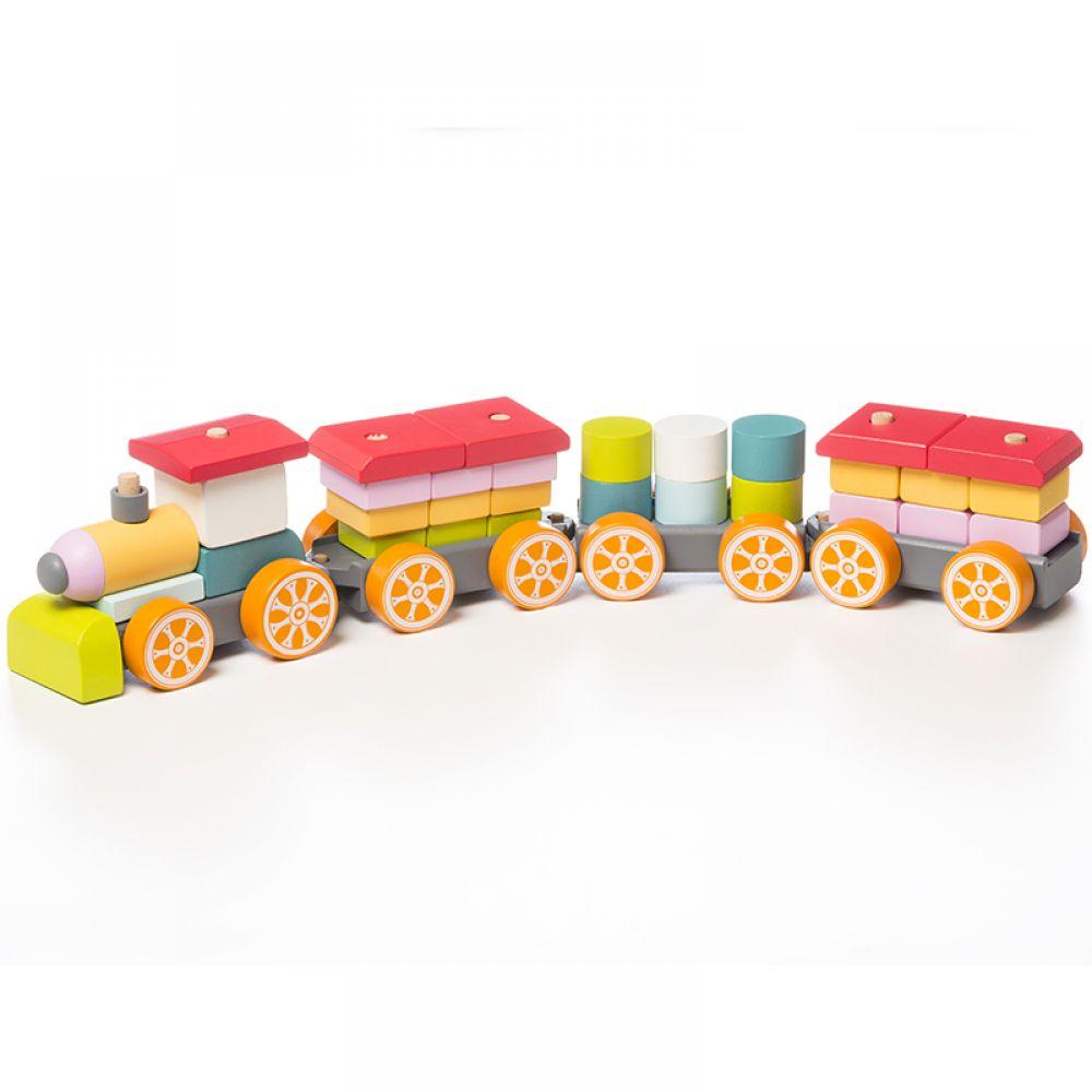 Educational wooden train Express train  LP-1