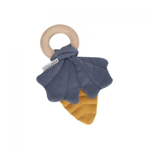 Crinkle toy leaves Pure & Nature blue