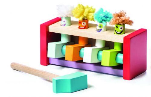 Развивающая деревянная игра Летающие Клоуны
