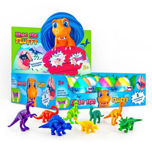 Slime anti-stress - Fluffy Dino Egg