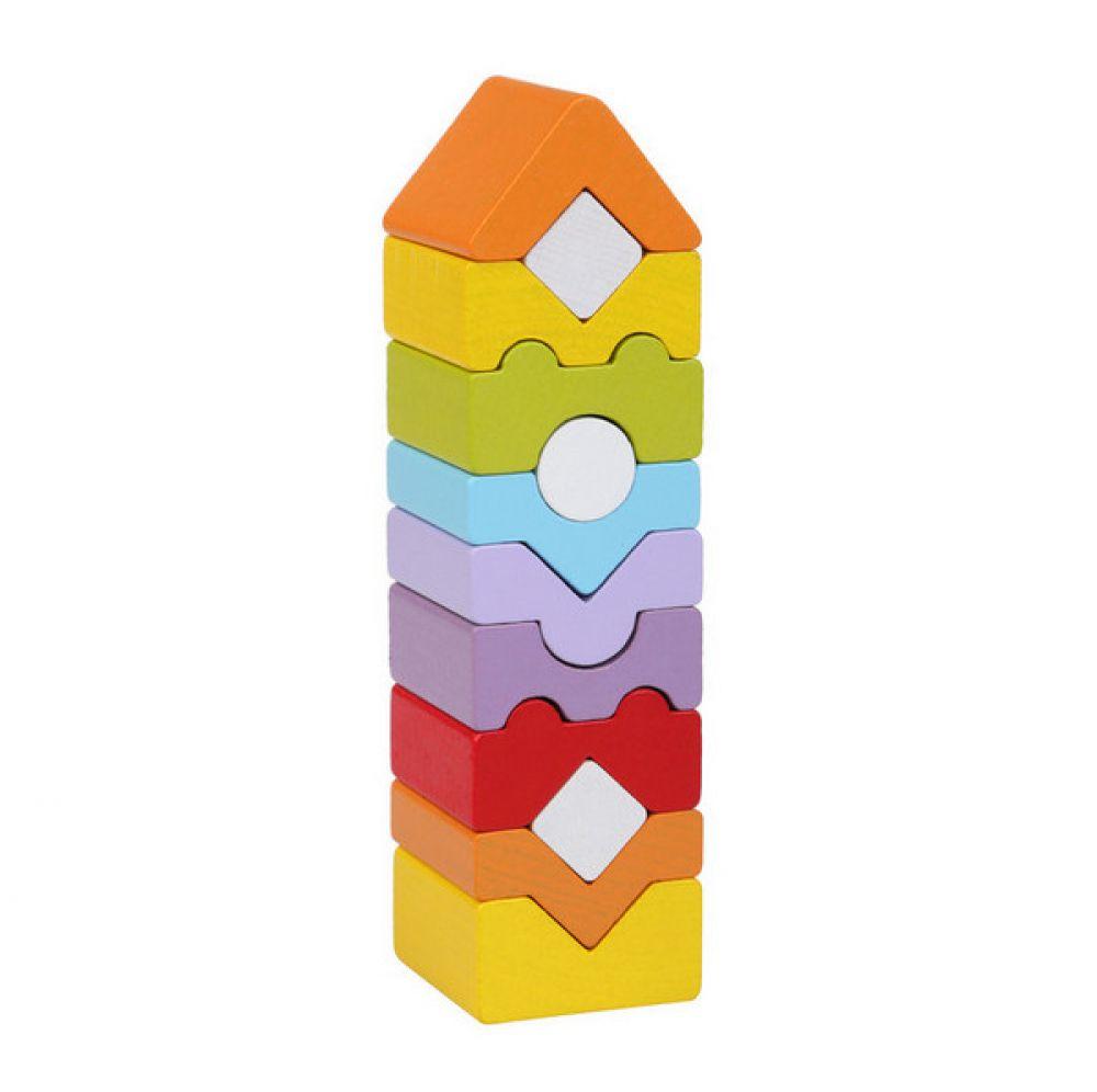 Attīstošā koka piramīda EKO tornis - 11