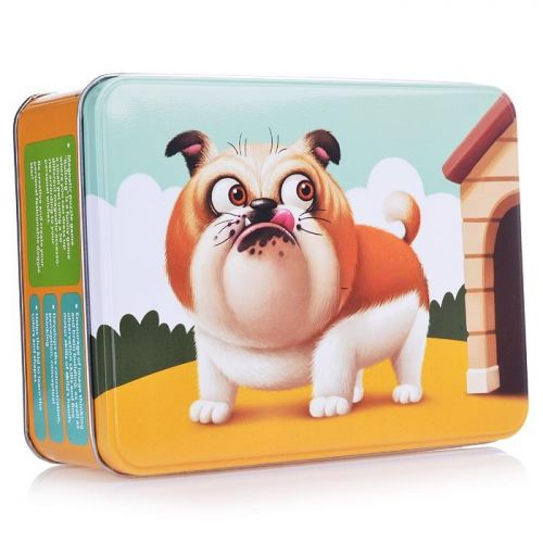 Educational magnetic puzzles Bulldog