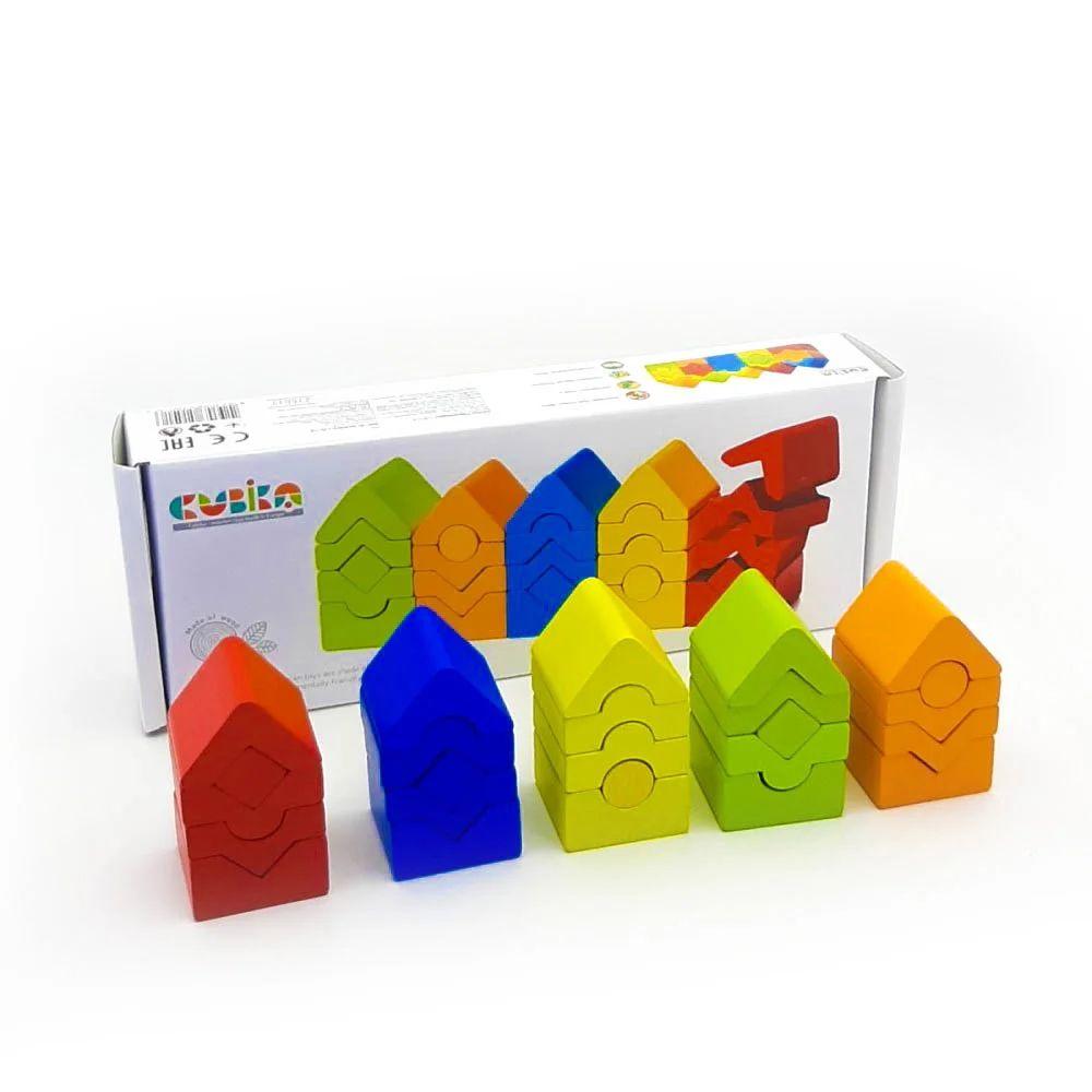 Attīstošā koka piramīda EKO torņi - 13
