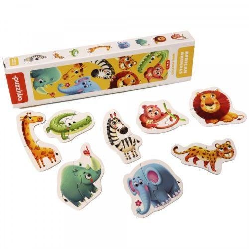 Attīstošā puzle Āfrikas dzīvnieki