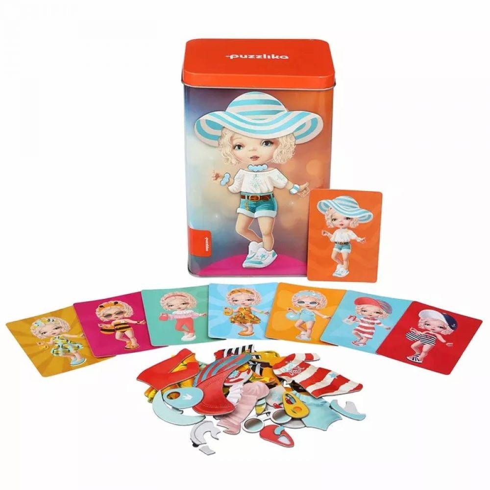 Развивающие магнитные пазлы Куклы